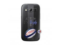 Coque Samsung Galaxy ACE 4 Je Peux Pas J Ai Rugby