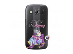 Coque Samsung Galaxy ACE 4 Je Peux Pas J Ai Shopping