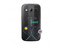 Coque Samsung Galaxy ACE 4 Je Peux Pas J Ai Tennis
