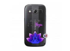 Coque Samsung Galaxy ACE 4 Je Peux Pas J Ai Yoga