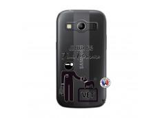 Coque Samsung Galaxy ACE 4 Je Peux Pas Je Suis Veterinaire
