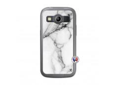 Coque Samsung Galaxy ACE 4 White Marble Translu