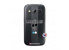Coque Samsung Galaxy ACE 4 Marseillais à Vie