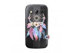 Coque Samsung Galaxy ACE 4 Multicolor Watercolor Floral Dreamcatcher