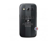 Coque Samsung Galaxy ACE 4 Oh Putain C Est L Heure De L Apero