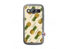 Coque Samsung Galaxy ACE 4 Sorbet Ananas Translu