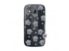 Coque Samsung Galaxy ACE 4 Petits Elephants