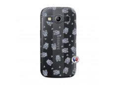 Coque Samsung Galaxy ACE 4 Petits Hippos