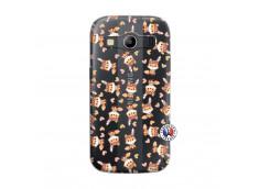 Coque Samsung Galaxy ACE 4 Petits Renards