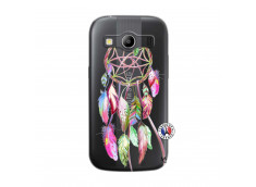 Coque Samsung Galaxy ACE 4 Pink Painted Dreamcatcher