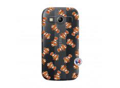 Coque Samsung Galaxy ACE 4 Petits Poissons Clown