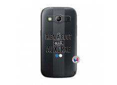 Coque Samsung Galaxy ACE 4 Rien A Foot Allez Auxerre