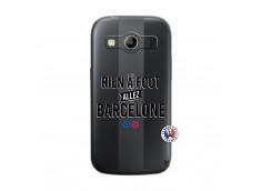 Coque Samsung Galaxy ACE 4 Rien A Foot Allez Barcelone