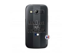 Coque Samsung Galaxy ACE 4 Rien A Foot Allez Bordeaux