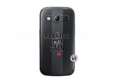 Coque Samsung Galaxy ACE 4 Rien A Foot Allez Caen
