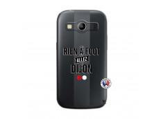 Coque Samsung Galaxy ACE 4 Rien A Foot Allez Dijon