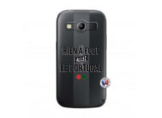 Coque Samsung Galaxy ACE 4 Rien A Foot Allez Le Portugal