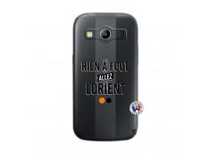 Coque Samsung Galaxy ACE 4 Rien A Foot Allez Lorient