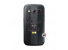 Coque Samsung Galaxy ACE 4 Rien A Foot Allez Nantes