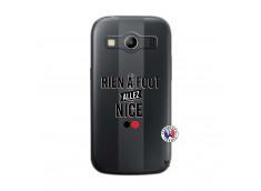 Coque Samsung Galaxy ACE 4 Rien A Foot Allez Nice