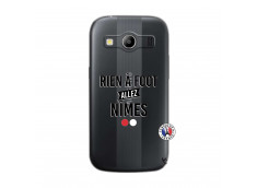 Coque Samsung Galaxy ACE 4 Rien A Foot Allez Nimes