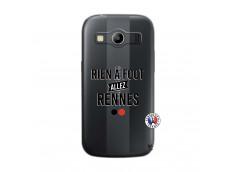 Coque Samsung Galaxy ACE 4 Rien A Foot Allez Rennes