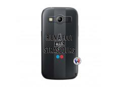 Coque Samsung Galaxy ACE 4 Rien A Foot Allez Strasbourg