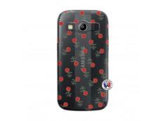 Coque Samsung Galaxy ACE 4 Rose Pattern