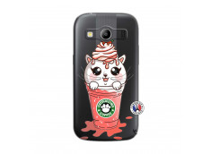 Coque Samsung Galaxy ACE 4 Catpucino Ice Cream
