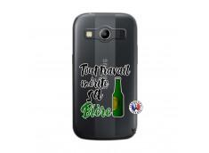 Coque Samsung Galaxy ACE 4 Tout Travail Merite Sa Biere