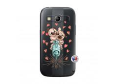 Coque Samsung Galaxy ACE 4 Puppies Love