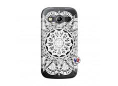 Coque Samsung Galaxy ACE 4 White Mandala