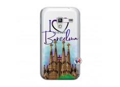 Coque Samsung Galaxy ACE Plus I Love Barcelona