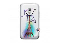 Coque Samsung Galaxy ACE Plus I Love Paris