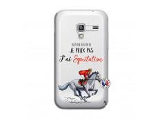 Coque Samsung Galaxy ACE Plus Je Peux Pas J Ai Equitation