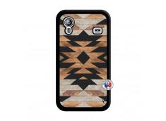 Coque Samsung Galaxy ACE Aztec Noir