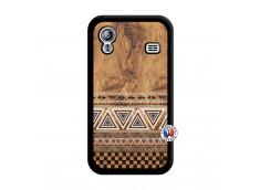 Coque Samsung Galaxy ACE Aztec Deco Noir