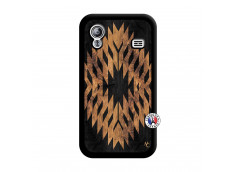 Coque Samsung Galaxy ACE Aztec One Motiv Noir
