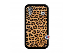 Coque Samsung Galaxy ACE Leopard Style Noir