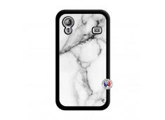 Coque Samsung Galaxy ACE White Marble Noir