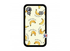 Coque Samsung Galaxy ACE Sorbet Banana Split Noir