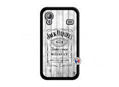 Coque Samsung Galaxy ACE White Old Jack Noir