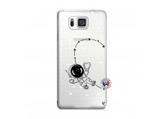 Coque Samsung Galaxy Alpha Astro Girl