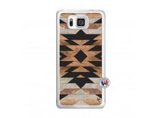 Coque Samsung Galaxy Alpha Aztec Translu