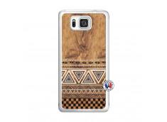 Coque Samsung Galaxy Alpha Aztec Deco Translu