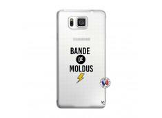 Coque Samsung Galaxy Alpha Bandes De Moldus