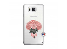 Coque Samsung Galaxy Alpha Bouquet de Roses