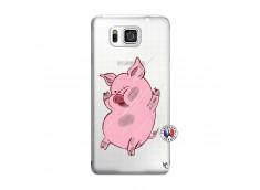 Coque Samsung Galaxy Alpha Pig Impact