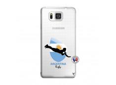 Coque Samsung Galaxy Alpha Coupe du Monde Rugby-Argentine