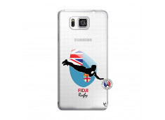 Coque Samsung Galaxy Alpha Coupe du Monde Rugby Fidji